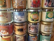 "Two or More Bath & Body Works 3-wick Candles ""Your Choice"" PLEASE READ BELOW"