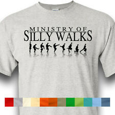 Ministry Of Silly Walks Monty Python Flying Circus Holy Grail Shirt