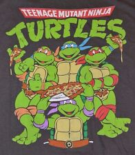 TMNT Teenage Mutant Ninja Turtles PIZZA Officially Licensed Nickelodeon T-Shirt