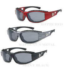 Chopper Wind Resistant Pad Sports Motorcycle Riding Sunglasses Pick Your Color !