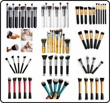 Professional Make Up Brush Set pennelli Fondazione Fard Polvere EYE LINER NUOVI
