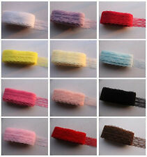 Wholesale! New 10 Yard Beautiful Handicrafts Embroidered Net Lace Trim Ribbon