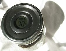 Digital Curing Cap for Wide Mouth Mason Jars