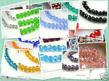 Wholesale 100PCS Colorful 4x6mm Swarovski Crystal Loose Bead