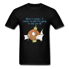 Magikarp Evolution Pokemon Men's T-Shirt Tee Nintendo Gyrados Kill All Evolve