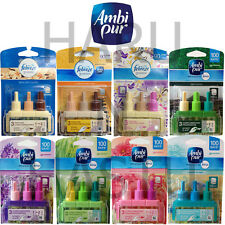 3 X AMBI PUR FEBREZE 3VOLUTION REFILLS HOME OFFICE SCENT FRAGRANCE AIR FRESHENER