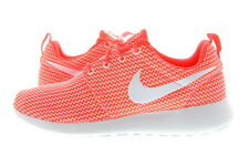 Women Nike Roshe Run Hot Lava/White 511882-802