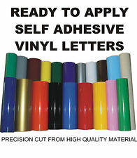 Self adhesive vinyl lettering words for vans craft signwriting signs