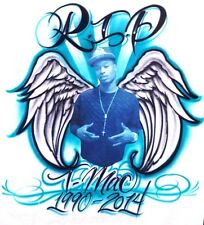 Airbrush RIP Rest in Peace Memorial In Loving Memory T-shirt Airbrushed Transfer