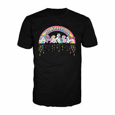 My Little Pony Retro Badge Official Adults T Shirt Original Classic 80s TV Show