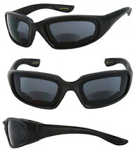 Tinted Bifocal EVA PADDED Safety Goggles Sun Reader Reading Sunglasses RE49