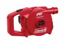 Coleman Quickpump Air Pump For Air Beds - Battery / 12v / 230v / Rechargeable