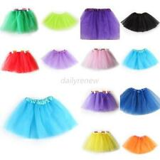 Toddler Girls Ballet Dance Tutu Costumes Party Princess Skirt 3 Layer Dress D74