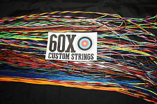 "60X Custom Strings String and Cable Set for Mathews SQ2  29 1/2"" & 30"" Draw Bow"