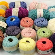 Rowan Vintage 4ply & DK Cotton Yarns Salad Days Sea Breeze Chenille, etc  Rare 6