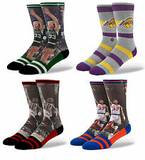 STANCE SOCKS ASSORTED NBA LEGENDS US 9-13 NEW SPORT FREE POST AUST SELLER