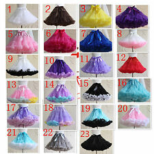 LOLITA TUTU Skirt COS Underskirt Mesh Layer Dance Costume Petticoat PUFFY Skirts