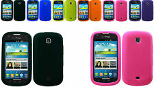 Smooth Silicone Soft Case Cover For Samsung Galaxy Stellar SCH-I200/Jasper Phone