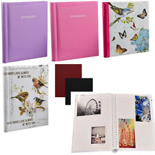 Arpan Spiral Bound Self Adhesive Photo Albums 20 Sheets 40 Sides -Choose Color