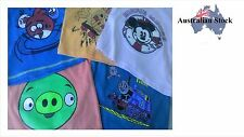 Brand New Colorful Cartoon T-Shirt for Kids (Thimas, Sponge Bob, Angry Birds)