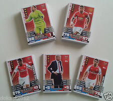 MATCH ATTAX EXTRA 2014/15 SQUAD UPDATE CARDS #41-76