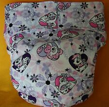 All In One Adult Baby Reusable Cloth Diaper S,M,L,XL My Little Pony Lace