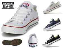 CONVERSE ALL STAR CHUCKS OX OPTIC LOW WEIß WHITE BLAU BLUE SCHWARZ BLACK NEU NEW