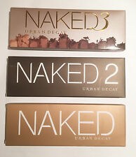 NUOVO URBAN DECAY PALETTE NAKED 1 2 3 Eye Shadow TRUCCO KIT PROFESSIONAL BOX