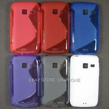 1PC Soft TPU Gel Case Back Cover Skin For Samsung Galaxy Y Duos S6102 GT-S6102