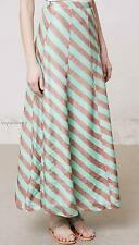 NEW Anthropologie Anupamaa Minted Terra Skirt  Size S-M-L