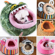 New Bed House Soft Warm Removable Winter Dog Puppy Cat Teddy Pet