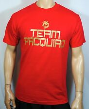 Manny Pacquiao Training T Shirt Pacman Money Tee Boxing Mens Team Pacquiao Red