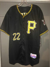 ANDREW MCCUTCHEN #22 PITTSBURGH PIRATES BLACK BASEBALL JERSEY NEW ADULT SIZES