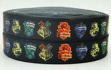 7/8''22mm Harry Potter Printed Grosgrain Ribbon Hair Bow Polyester Diy Sewing