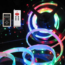 5M 10M 133 Dream color 5050 6803 IC IP67 Waterproof LED Strip 12V+ RF Remote
