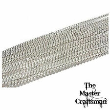 """☆ 1-20 pcs 4""""-9"""" STERLING SILVER PLATED CURB CHAINS BRACELETS WHOLESALE FINDINGS"""