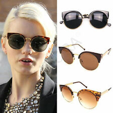 2016 Unisex Cat Eye Retro Sunglasses Mens Women Fashion Driving Sunglasses