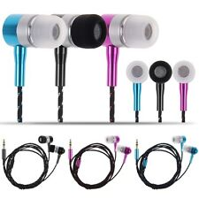 3.5mm Bass Stereo In-Ear Earphone Headphone Headset For Tablet MP3 Phone Samsung