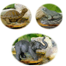 BERMUDA JUNGLE PALS POND WATER SPITTERS GARDEN FEATURES ANIMAL ORNAMENTAL