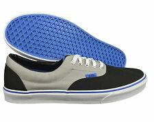 VANS. Era. Black / Grey. Unisex Shoe. French Blue Soul. Mens US Size, 12, 13.