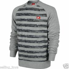 614417-063 New with tag Nike Men's AW77 SPEED STRIPE Crewneck Sweatshirt