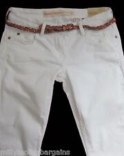 New Womens White Relaxed Skinny NEXT Jeans Size 18 6 Regular