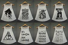 Harry Potter Magic Spell Dope Swag Hipster Tumblr Funny Hot Women Cream Tank Top