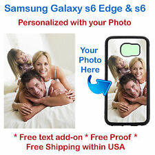 Personalized Customized Photo Picture Phone case cover for Samsung s6 Edge or s6