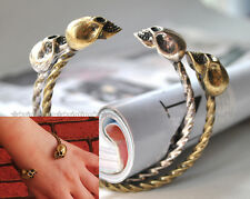 1pc Fashion Big Vintage Skull Cuff Bracelet 2-Color Great Quality Free Shipping