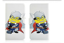 Minions Despicable me Magnetic PU Leather Flip Case Cover For Samsung Galaxy 30