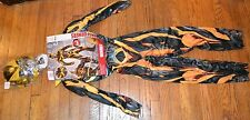 Transformers BumbleBee Boys Muscle Costume REFLECTIVE Halloween Birthday Parties