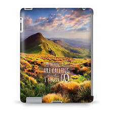 Mountains Are Calling Travel Adventure Case - fits iPad Kindle Samsung Galaxy Ta