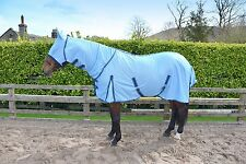 HORSE FLY RUG/SHEET FULL NECK + FREE FLY MASK - PONY, COB & FULL SIZES in stock
