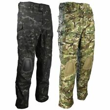 Military Army Camouflage Trousers with Knee Pads BTP/MTP Multicam Style Airsoft